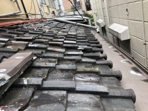 施工前瓦屋根